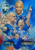 print of chesterfield fa cup 1997